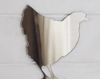 Farm Yard Hen Chicken Acrylic Mirror