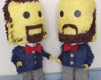 Mr & Mr  [ gay couple wedding pinata]