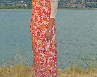Modest Maternity Dress/Jumper !!!Early Spring SALE!!! was 100.00 now on sale for 85.00