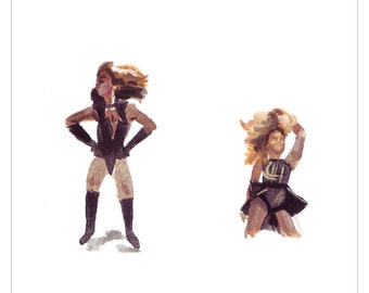 Tiny Beyonce Print