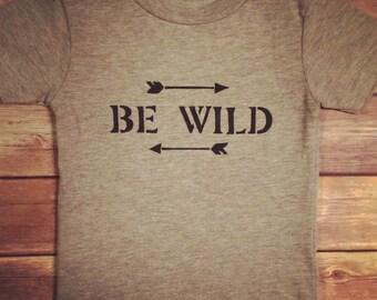 Be Wild Tee