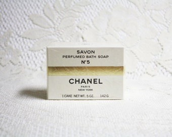 Chanel No 5 Perfumed Bath Soap, Perfumed Soaps, Chanel No 5 Fragrances, Vintage perfumed Soaps, Luxury Perfumed Soaps, Classic Chanel Soaps