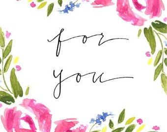 Flower tags - set of 12