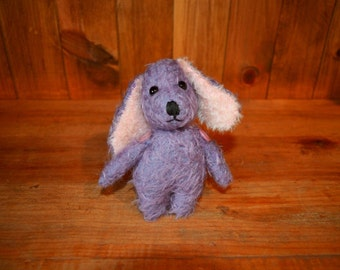 Paws the OOAK purple puppy.