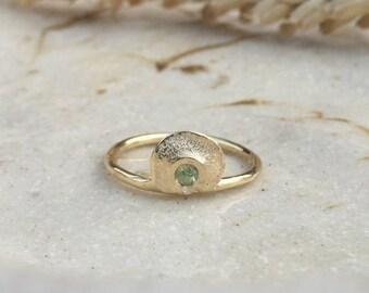 Husk + Sapphire Ring