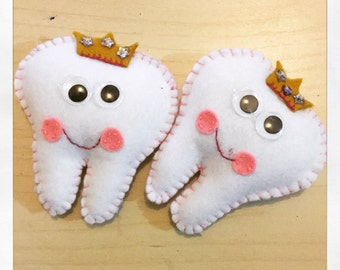 Little princess tooth fairy pillow