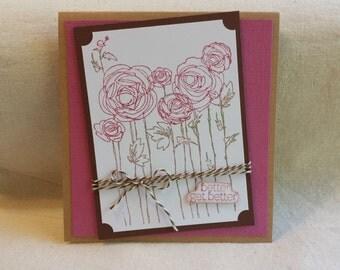 Flowers Better Get Better  Card