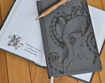 SALE! The Notebook Of Cthulhu | Inspired by H.P. Lovecraft Notebook Featuring the Humorous Thoughts and Opinions of the Almighty Cthulhu