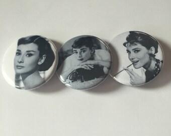 Audrey Hepburn pin pack