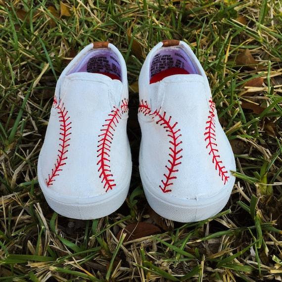 painted baseball canvas shoes vans