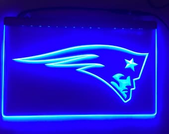 Pats, NFL Sign, NFL Light, New England, New England Patriots, New England Light, Patriots Light, Patriots Sign, New England Sign