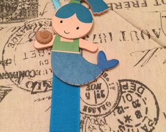 Turquoise Blue Mermaid Bow Holder/ bow holder/ bow organizer/ hair clip holder/ hair clip organizer/ barrette holder
