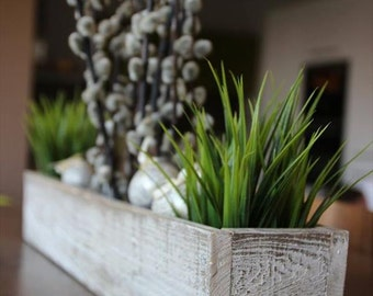 Rustic Pallet Wood Box Centerpiece or Planter