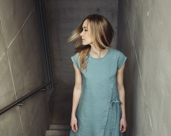 Linen Dress Motumo - 14S14