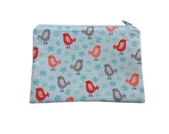 Makeup zipper bag, pencil case, cosmetic bag, cosmetic case, makeup organizer, makeup pouch, bridal bag, bridal shower gift, toiletry bag