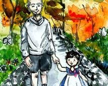 Custom children's book, illustrator for hire,  Personalized book, custom art