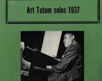"Art Tatum LP notebook (8.5"" x 11"")"