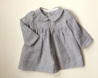 Kids Smock Dress PDF Pattern