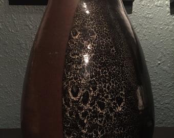 Huge Studio Pottery Vase Signed