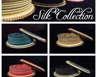 Resham (Silk) Bangle Stack