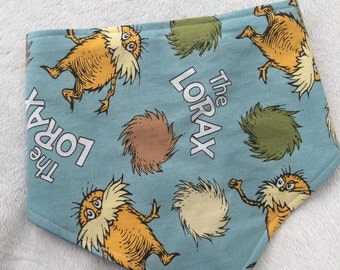 Dr Seuss The Lorax Dribble Bib