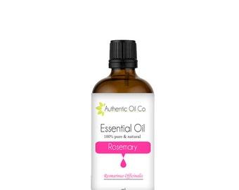 Rosemary Essential Oil 100% Pure 10ml 50ml 100ml