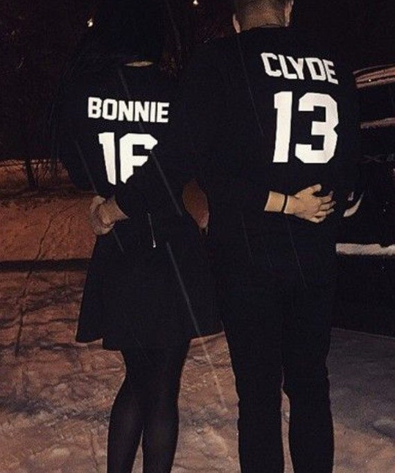 bonnie and clyde couples t shirts annivesary by alphaapparelco. Black Bedroom Furniture Sets. Home Design Ideas