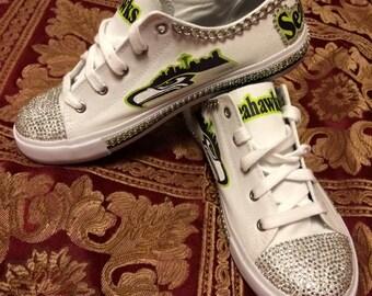 Seattle Seahawk shoes