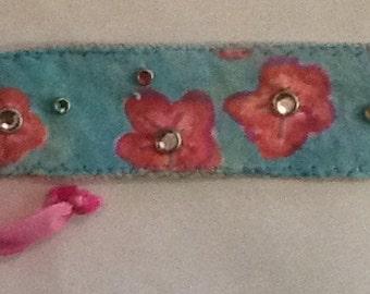 Handcrafted Friendship Cherry Blossom Bracelet