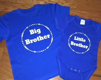 Big Brother Little Brother.Big Brother Shirt. Little Brother