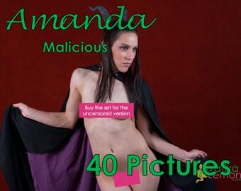 Amanda - Malicious - (Mature, Contains Nudity) - 40 Pictures
