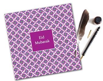 Contemporary Eid Mubarak Card, Eid Card, Eid Greeting Card, Islamic Card, Muslim Card