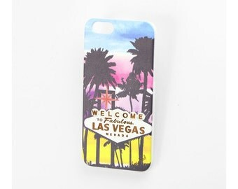 White Welcome to Las Vegas iPhone 7 case, iphone 6s case iphone 6 case iphone 5 case iphone 6s plus case iphone 6 plus case