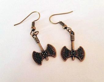 Battle Axe Earrings