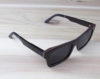 Sanos Eco-Friendly Wood Mavericks Sunglasses