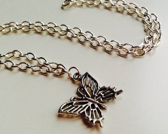 Sale | Butterfly | Cut Out | Insect | Nature | Cute | Necklace