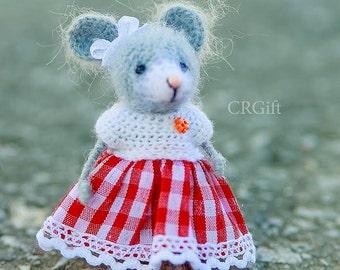 Crochet Mouse / Amigurumi / Cute Little Mouse / Crochet Little Mouse