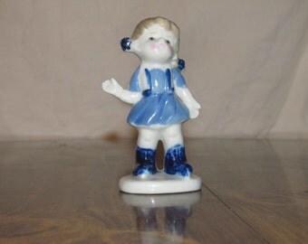 Vintage Ceramic Girl