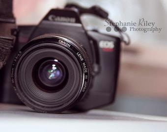 Canon Camera 35mm Stock Photography