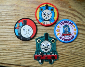 Thomas the Tank Engine embroidered patches