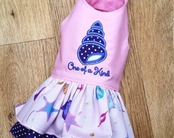 Small dog puppy Seaside clothes Chihuahua clothes T cup dog clothes, Dog seashell outfit Designer dog clothes  XXS