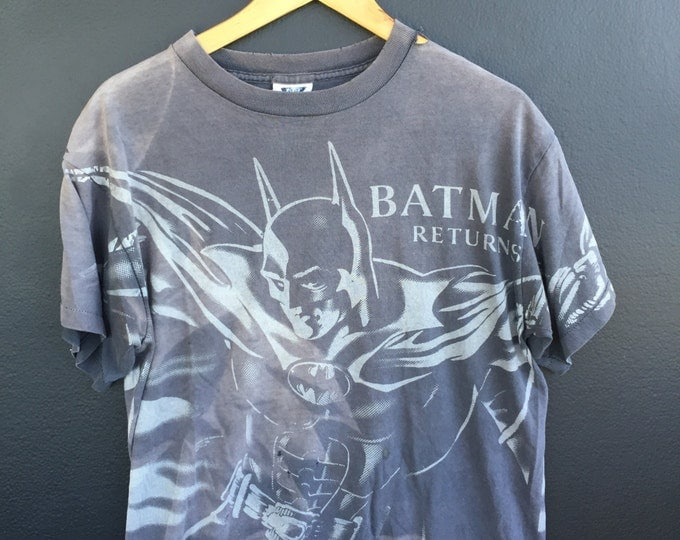 Batman Returns vintage all over print Tshirt