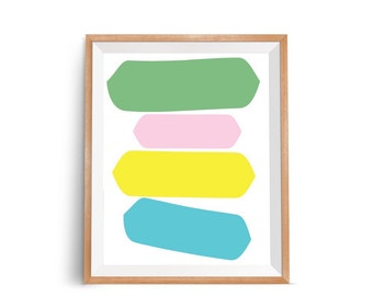 Modern Wall Pictures, Abstract Wall Poster, Modern Abstract Poster Art, Contemporary Art, Minimal Poster Print, Abstract Wall Art Decor