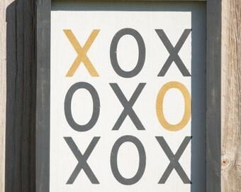 XOXO - Wedding - Love - Wood Sign