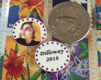Elyse Dilloway for President 2016 Earrings