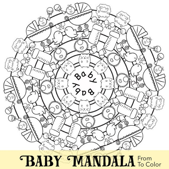 baby shower themed coloring pages - photo#18