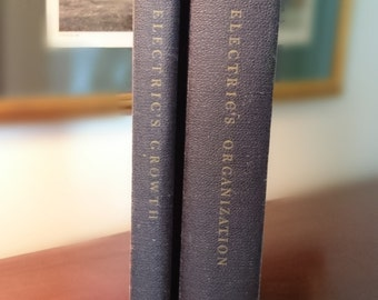 Professional Management in General Electric/1953 Book 1/1955 Book 2/FREE SHIPPING