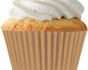 Tan Standard Cupcake Liners (30 pcs)