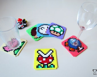 Pack 2-inspired video game six coasters