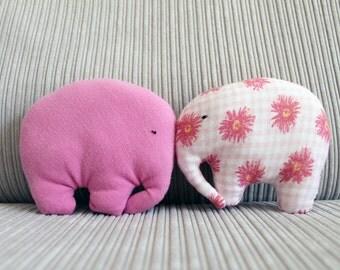 Mini stuffed elephant toy / elephant gifts / elephant nursery / soft toys / cuddly toy / stuffed animals / stuffed toys / baby gift